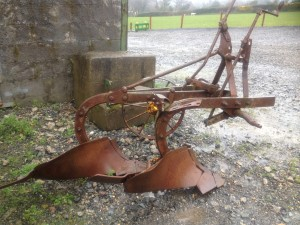 The exact plough Charlie used to qualify for the World championships!