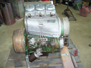 D40L Restored Engine