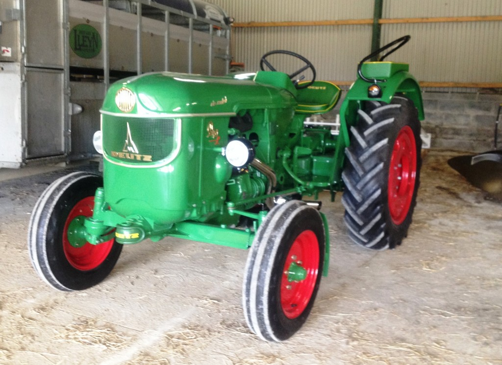Charlie's fully restored D40L tractor