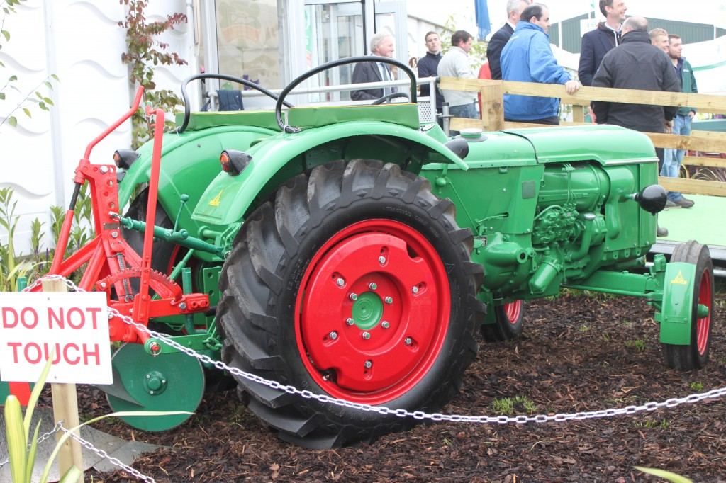 Charlie's Tractor at the Ploughing 2014